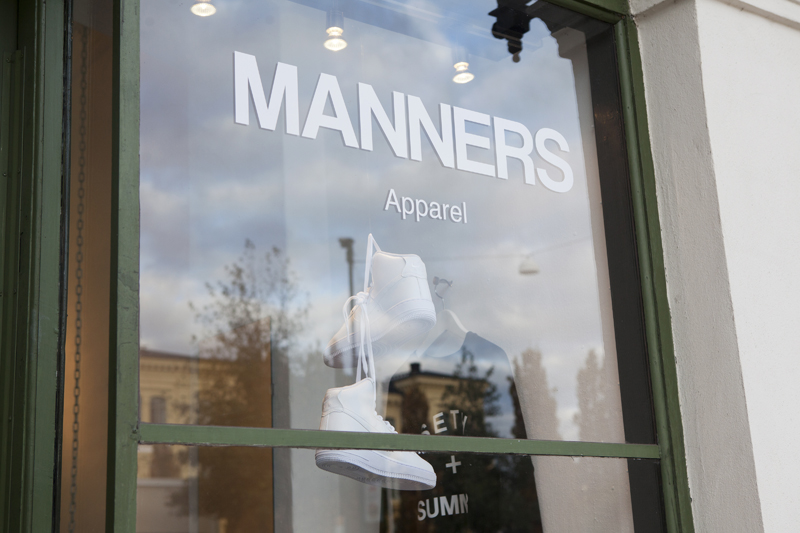 MANNERS Apparel